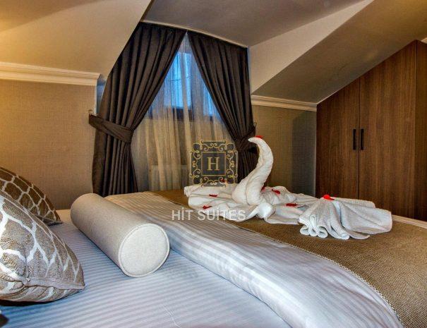 avcılar suit teraslı daire yatak odası